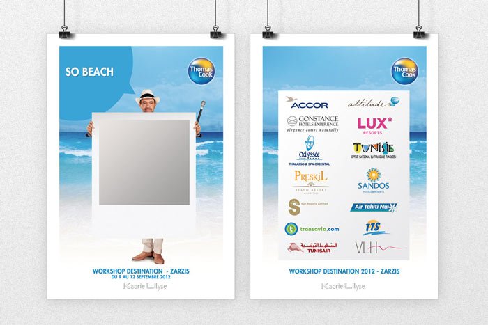 Print - Badge Participants Thomas Cook (recto & verso)