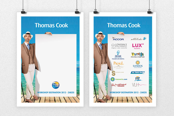Print - Badge Staff & Partenaires Thomas Cook (recto & verso)