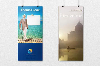 Print - Kakemonos pour Workshop Destination Thomas Cook & Jet tours (2012)